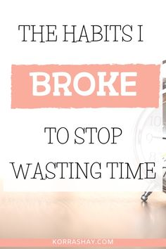 These 12 time wasting habits are holding you back! Don't worry- each habit also includes solutions for addressing each time wasting habit. … Read More 12 Time Wasting Habits Holding You Back Productivity Challenge, Productivity Quotes, Stop Wasting Time, Magnolia Design, Twenty Twenty, Time Management Skills, Train Your Brain, Productive Day, Achieving Goals