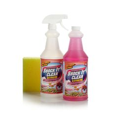 Professor Amos Shock It Clean Extreme Concentrate 32 oz. Kit - Spring Breeze