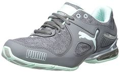 PUMA Women's Cell Riaze W Heather Training Sneaker, Steel Gray/Drizzle/Bay, 7 B US - http://trainingclothingforwomen.shopping-craze.com/index.php/2016/04/08/puma-womens-cell-riaze-w-heather-training-sneaker-steel-graydrizzlebay-7-b-us/
