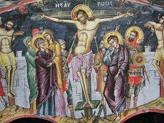 Religious Images, Religious Art, Tempera, Fresco, Byzantine Art, Mural Painting, Christ, Religion, Spirituality