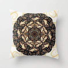Kaleidoscope  Throw Pillow by Alohalani - $20.00