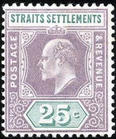 Straits Settlements 1902 (April-03) Old Stamps, Rare Stamps, Vintage Stamps, Santa Lucia, Jamaica, Strait Of Malacca, Straits Settlements, Crown Colony, Rolodex