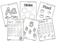 free preschool worksheets resource (contains various websites for lots of free printable worksheets)