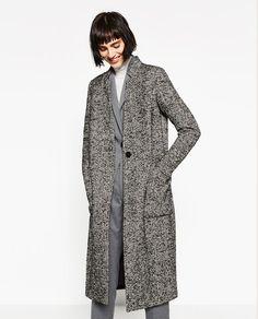 Image 5 of WOOL MAXI COAT from Zara