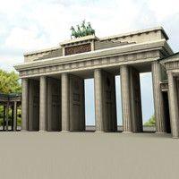 3d Model Wrought Iron Gate In 2020 Wrought Iron Gate Iron Gate Brandenburg Gate