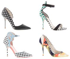 "J.Crew x Sophia Webster collaboration - My Fash Avenue. Precious. Just wish they were 2.5"" heels!"