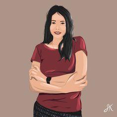 Boss Lady, Digital Illustration, Art Girl, Illustrator, Artworks, Disney Characters, Fictional Characters, Kit, Disney Princess