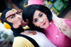 Doctor Girlfriend & The Monarch #Cosplay from Venture Brothers by *Solo-dono