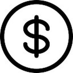 Dollar.  Moneda de dolar.