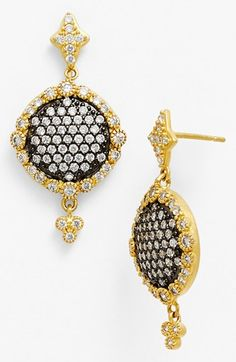 Freida+Rothman+Disc+Drop+Earrings+available+at+#Nordstrom
