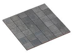 MOSAIC COMPAKT MARENGO 5X5 Mosaic Tile Designs, Mosaic Tiles, Cement, Concrete, Taupe, Urban, Instagram, Home Decor, Bathroom
