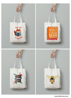 Home Decor & Gifts for Kind Souls by AnaReads Book Lovers Gifts, Gift For Lover, Canvas Fabric, Cotton Canvas, Reading Room Decor, Cotton Tote Bags, Reusable Tote Bags, Free Poster Printables, Gifts For Librarians
