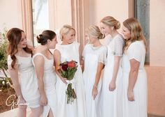 newport beach temple wedding, temple grounds, LDS wedding, LDS bride, modest wedding dress, modest bridesmaid dresses, bridesmaid hair ideas, blonde bride, husband and wife photography team, gilmore studios, newport beach, wedding dress ideas