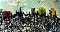 """Going Home - 46"""" x 24"""" - Giclee - Leftbank Art"""