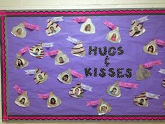 Valentine's Day Bulletin Board Ideas for the Classroom – Crafty Morning Valentinstag Bulletin Board Ideen für das Klassenzimmer – Crafty Morgen Daycare Bulletin Boards, February Bulletin Boards, Valentines Day Bulletin Board, Birthday Bulletin Boards, Winter Bulletin Boards, Valentines Art, Valentines Day Activities, Birthday Board, Birthday Calendar