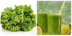 15 poderosos beneficios del jugo de perejil Parsley, Diy And Crafts, Herbs, Healthy, Food, Home, Green Tea Recipes, Green Juices, Health Remedies