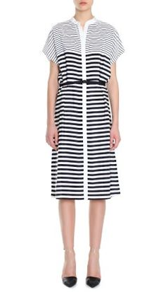 Claire Stripe Shirt Dress 550 USD