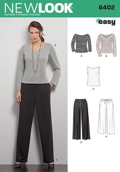 6402 - Skirts & Trousers - New Look Patterns