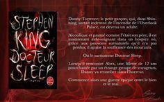 Chronique sur la suite des histoires du petit Danny de Shining devenu grand ! Un grand roman de Stephen King, un vrai délice ! Pour en savoir plus, cliquez sur l'image :)  #books #horror