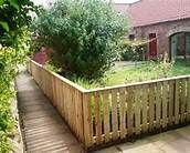 I would love this painted white. Cheap Fence Ideas - Bing Images
