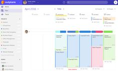Teamwork Planning: The Plan section is ideal to organize your weekly workload across teams and projects. It presents all the team tasks they have set to start in each day, for each week #teamwork #planning #productivity