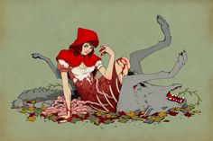 Miss Hood by stuntkid.deviantart.com
