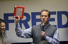 Santorum backs Romney — sort of. Lamest. Endorsement. Ever.