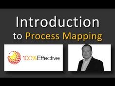 Introduction to Process Mapping (Lean Six Sigma) ONLINE Change Management, Behavior Management, Business Management, Management Tips, Project Management, Business Process Mapping, 6 Sigma, Lean Manufacturing, Effective Leadership