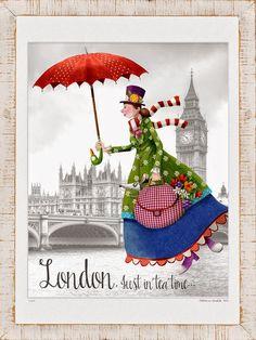 Cuaderno de viaje: Quiero ser como Mary Poppins...