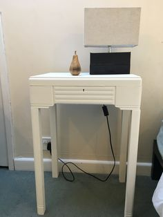Old cutlery storage table painted with Annie Sloan chalk paint Cutlery Storage, Table Storage, Annie Sloan Chalk Paint, Desk, Furniture, Home Decor, Flatware Storage, Desktop, Decoration Home
