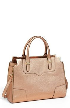 Rose gold satchel #obsessed