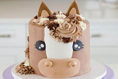 Get Your Party Started With These Horse Cakes - COWGIRL Magazine Cowgirl Birthday Cakes, Cowgirl Cakes, Animal Birthday Cakes, Horse Birthday Parties, Cute Birthday Cakes, 7th Birthday, Bolo The Walking Dead, Horse Cupcake, Cupcake Cakes