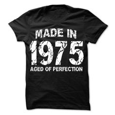 Made in 1975 - Aged of Perfectio T Shirt, Hoodie, Sweatshirt - Career T Shirts Store T Shirt And Jeans, Grey Shirt, Sweater Shirt, Sweatshirt Outfit, Frog T Shirts, Cut Shirts, The 1975 T Shirt, College Hoodies, Pretty Shirts