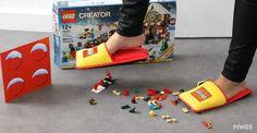 Autsch! Viele Eltern werden diesen einen bestimmten Schmerz kennen, wenn man nachts im Dunkeln nochmals das Kinderzimmer betritt, um nach den Kleinen zu sehen. Irgendein Legostein liegt immer noch auf dem Boden und quält unsere Füße. Dem wird aber jetzt ein Ende gesetzt.