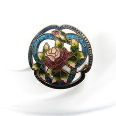 Antique Hatpin Stunning Enamel Flower with Open Work Hat Pin, NR | eBay Edwardian Era, Victorian, Stick Pins, Hat Pins, Hats For Women, Vintage Antiques, Enamel, Flowers, Ebay