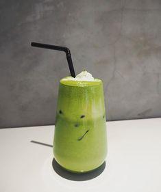 Cafe Display, Feed Goals, Mood And Tone, Shades Of Green, 50 Shades, Rainbow Theme, Green Theme, Winter Drinks, Matcha Green Tea