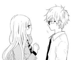 Find images and videos about love, couple and anime on We Heart It - the app to get lost in what you love. Manga Anime, Hibi Chouchou, Model Sketch, Cat Pee, Manga Couple, Kawaii, Girl Inspiration, Cute Anime Couples, Girl Pictures