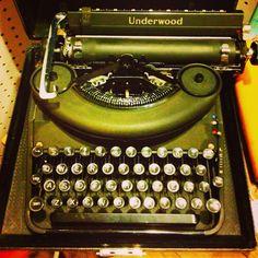 Mobile writing #vintage #typewriter