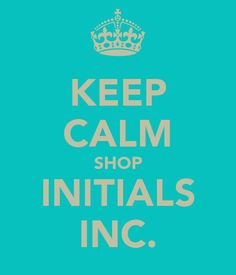 KEEP CALM SHOP INITIALS INC.