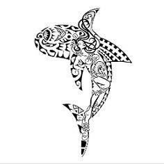 Composite shark tattoo