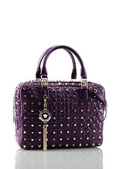 Versace - Purple Vanitas Demetra with Studs