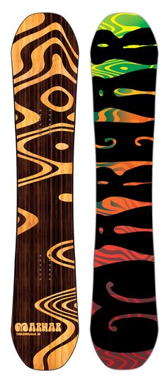 THROWBACK [All Mountain Leader] featuring our Award Winning rocker, the Throwback is a balanced deck that can shred equally in the park and all over the mountain. It has power, stability, and pop with the perfect amount of flex. The Attack Arc creates superb edge hold for laying into carves. The BAMBOO DNA and Carbon boosts off kickers with style, yet is soft enough to hit the park. #throwback #style #snowboard #snowboarding #trippy #marhar #madeinusa #shred #mens #graphic