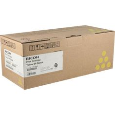 Ricoh 406044 Original Yellow Toner Cartridge. http://planettoner.com/ricoh/ricoh-406044-original-yellow-toner-cartridge