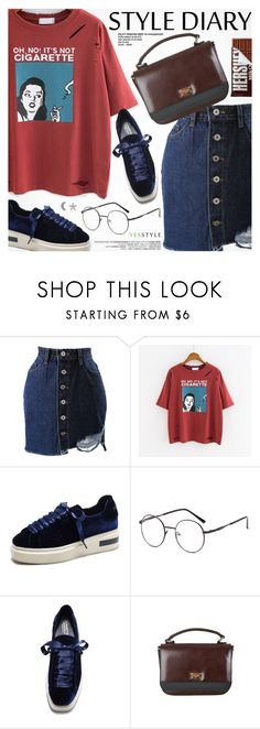 """""""YesStyle - 10% off coupon"""" by pokadoll ❤ liked on Polyvore featuring Chlo.D.Manon, Hershey's, JY Shoes, DaBaGirl, Marc Jacobs, yesstyle and prespring"""