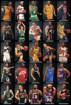 NBA Legends Art Print by Zapista OU. All prints are professionally printed, packaged, and shipped within 3 - 4 business days. Choose from multiple sizes and hundreds of frame and mat options. Basketball History, Basketball Shooting, Basketball Legends, Sports Basketball, Basketball Players, Bryant Basketball, Celtics Basketball, Funny Basketball Quotes, Basketball Vines