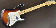 FENDER / American Standard Stratocaster 3-Color Sunburst Guitar Free Shipping! δ