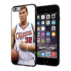 """NBA Basketball Player Blake Austin Griffin LA Los Angeles Clippers, Cool iPhone 6 Plus (6+ , 5.5"""") Smartphone Case Cover Collector iphone TPU Rubber Case Black Phoneaholic http://www.amazon.com/dp/B00WEXSZEE/ref=cm_sw_r_pi_dp_kTLpvb19M7KZM"""