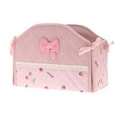 25x16x19cm Cherry Pattern Elegant Storage Box – USD $ 11.99