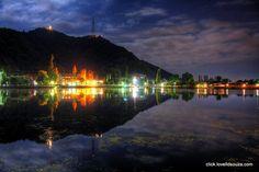 Emoticon heart Hw many likes for this night shot. Itz Dal lake ,Srinager♥