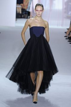 #ChristianDior midnight-tulle look from #RTW #Spring2013 collection
